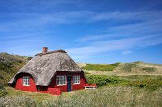 duin,zee,huisje,dakje, schoorsteen...zo eenvoudig kan het zijn