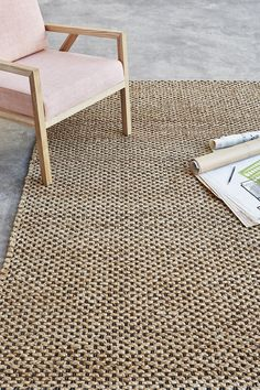 Gus* Modern Launches New Lines for Its Fall 2018 Furniture Collection - Design Milk Modern Couch, Modern Area Rugs, Interior Design Career, Interior Styling, Natural Flooring, Bohemian Design, Rectangular Rugs, Burke Decor, Types Of Rugs