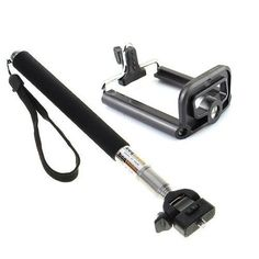 Monopod Artifact Handheld Mount Camera Phone Clip for iPhone 5,5c,5s,HTC,LG,SONY
