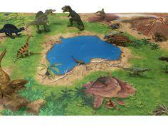 Dinosaur / Dinoland Play Mat / Play Carpet for the Children`s Room - SM02