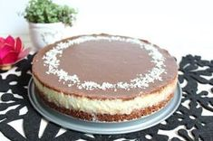 Cake By Mary: Kokoskladdkaka med chokladganache Bagan, Cake Recipes, Dessert Recipes, Norwegian Food, Norwegian Recipes, Sweet Pie, No Bake Desserts, No Bake Cake, Cake Decorating
