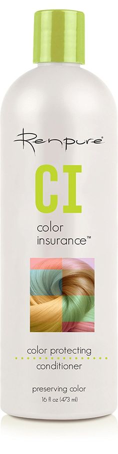 Renpure Color Insurance 2010 CI Color Protecting Conditioner, 16 Fluid Ounce -- Continue to the product at the image link. (This is an affiliate link) #HairConditioner