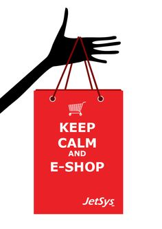 Keep calm and e-shop