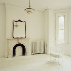 Maureen O'Connor / White Chair / Affordable Artwork / Canadian Art / Gallery / Framing / Canvas / Art Interiors - Toronto, ON