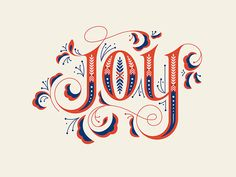 Beautiful hand-lettering by @niftyswank. #typography #handlettering