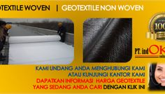 Terlampir Info Lengkap Harga Jual Geotextile Woven dan Non Woven