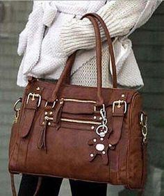 2017 New Design Pu Leather Women Handbags Vintage Belt Bear Tassel S Shoulder Bag Casual