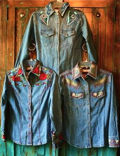 Anything western! Anything blue! How I live my life!