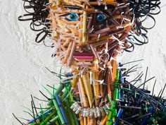fascinating sculptures made out colored pencils federico uribe 5