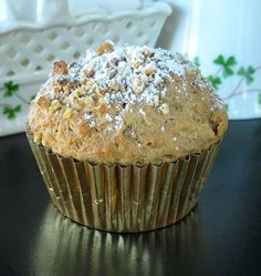 Baileys Irish Cream and Coffee Muffins: Perfect for St. Patrick's Day morning!