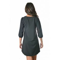 Casey Shift Dress - RESTOCKED in Black (Use coupon code MISSMAKALA to receive a discount on your order)