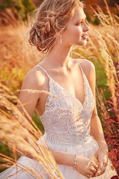 grande immagine  Vestido de noiva Baile Cauda Médio Sem Mangas Blusa de Alças