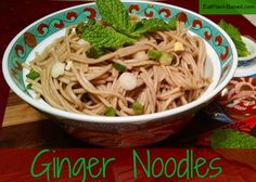 Easy noodle dish that can be made in about 20 minutes! Recipe from Physicians Committee for Responsible Medicine.