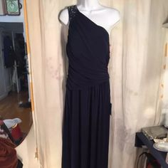 Eliza J NWT Prom Formal Wedding Dress Gown 12 Blue Brand new, tags attached, no issues Eliza J Dresses Prom