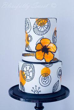 Italian Chic Riviera Cake - Cake by Jacki Fanto