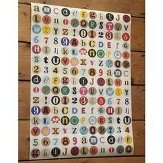 Alphabet Spots Wrap