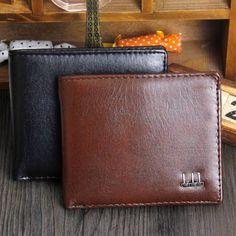 080456f3d Spektro DesignStore Leather Trifold Wallet, Billfold Wallet, Men Wallet,  Slim Wallet, Pocket