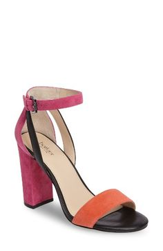 Free shipping and returns on Botkier Gianna Ankle Strap Sandal (Women) at Nordstrom.com. Clean lines and color blocking define an ankle-strap sandal sure to refresh your office ensembles, weekend wardrobe and everything in between.