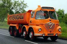 Hoveringham - Foden , vroeger al gehad als miniatuur van Matchbox. Dump Trucks, Cool Trucks, Big Trucks, Pickup Trucks, Antique Trucks, Vintage Trucks, Old Lorries, Train Truck, Truck Art