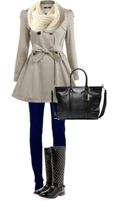 """""""Ready for the Rain"""" by michalawawro on Polyvore  wish i had this kind of rain outfit!"""