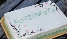 Cherry Blossoms -Cake - LeivinLiina - Vuodatus.net