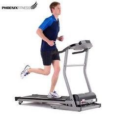 Phoenix Fitness T-420 Motorised Treadmill - Auto Incline