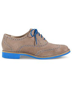 Cole Haan Women's Shoes, Alisa Oxfords - Womens 13 Trends for 2013 - Macy's