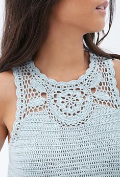 Outstanding Crochet: Crochet Top from Forever 21.