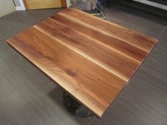 Attrayant Restaurant Table Tops Laminated Walnut Planks