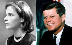 Ex-White House intern Mimi Alford and US President John F Kennedy