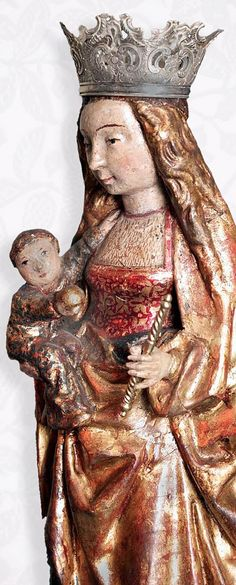 Nuestra Sra la Virgen Conquistadora, Capilla del Beato Sebastian de Aparicio, Convento de la Impresion de la Llagas de San Francisco, Ciudad de Puebla, Pue.