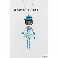 Sautoir LOL Alice Bleu Bijoux LOL   eBay