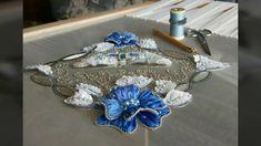 Кутюрная вышивка люневильским крючком и иглой.