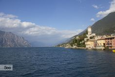 The city on the shores of Lake Garda! by moonlotus87 on 500px