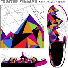 I LOVE Nicky Riga's Scarf Design for @PrintedVillage