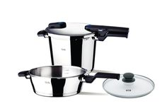 Fissler FSSFIS5854 Vitaquick FIS5854 Quattro Set, Stainless Steel ^^ Details can be found  : Cookware Sets