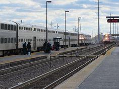 Metra Union Pacific, Waukegan, Illinois.  Road these into Chicago.