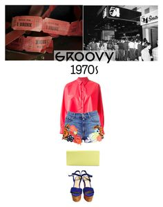 Groovy 70's by natep on Polyvore featuring polyvore fashion style Kenzo Christopher Kane Steve Madden Giorgio Armani clothing