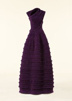 gorgeous everything! color, shape, design - gorgeous by AZZEDINE ALAIA  - a museum piece