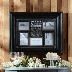 Wedding Vows Collage Frame