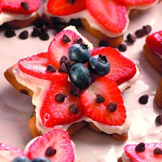 Recipe for Stars and Stripes Healthy Cookies