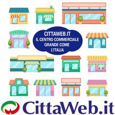 Cittaweb è un centro commerciale on line grande come l'Italia formato da negozi di quartiere italiani.   Qui trovi per città i negozi, boutique, botteghe e attività aderenti.   Qui ogni negozio promuove sé stesso, è autonomo, indipendente e in più godrà dell'effetto benefico che ha di per sé il centro commerciale.  Ogni negozio ha il suo negozio on line all'interno di Cittaweb e permette a chiunque di entrare e uscire dal proprio negozio on line.   Tutti i negozi aderenti a cittaweb hanno la…