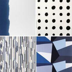 ikea fabrics blue / susanna