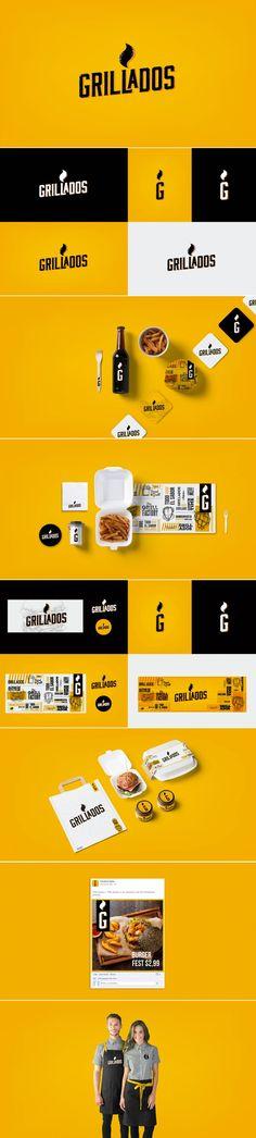 Grillados Restaurant Branding by Carlos Logroño