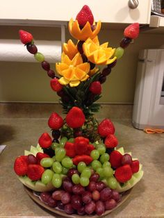 Simple fruit carving