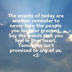 tomorrow isn't promised songs - Google Search | Words of Wisdom ...
