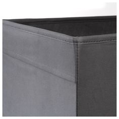 IKEA - DRÖNA, Box, dark gray, A good size for slightly larger things like clothes, media accessories and toys. The box fits perfectly in KALLAX shelf. Easy to pull out and lift as the box has handles. Storage Boxes With Lids, Small Storage, Kallax Shelving, Shelves, Box Ikea, Ikea Storage Solutions, Kallax Regal, Ikea Shopping, Fabric Boxes