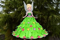 Lea's Cooking: Tinkerbell Doll Cake for a Birthday Party!!!
