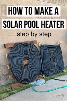 Woodworking Holz How to build a solar pool heater at home using inexpensive material. This DIY project is great for pool owners Holz How to build a solar pool heater at home using inexpensive material. This DIY project is great for pool owners Swimming Pool Heaters, Diy Swimming Pool, Diy Pool Heater, Homemade Pool Heater, Garage Heater, Solar Water Heater, Piscine Diy, Pool Diy, Pool Care