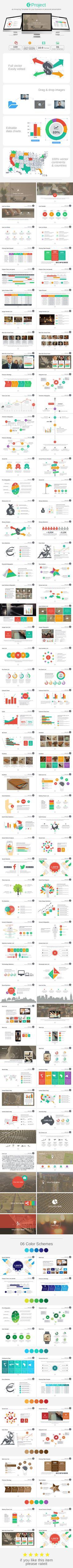 GProject PowerPoint Template #design Download: http://graphicriver.net/item/gproject-powerpoint-template/11540508?ref=ksioks